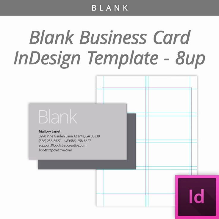 Indesign Business Card Template Free Luxury Blank Indesign Business Card Template 8 Up Free Download