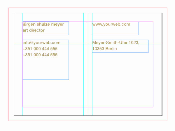 Indesign Business Card Template Free Luxury How to Customise A Business Card Template In Adobe Indesign