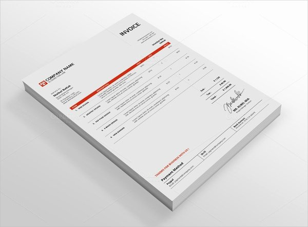 Indesign Invoice Template Free Lovely Indesign Invoice Template 7 Free Indesign format