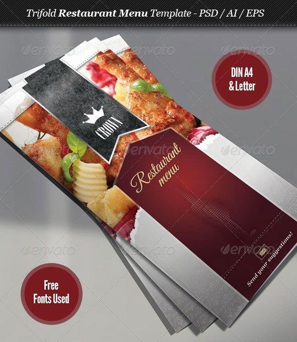 Indesign Menu Template Free Best Of 23 Creative Restaurant Menu Templates Psd & Indesign
