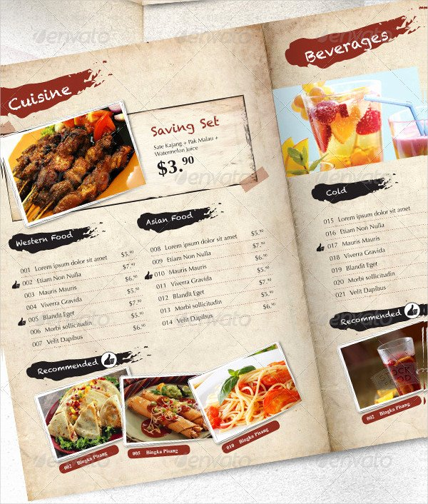 Indesign Menu Template Free Best Of Indesign Menu Template 23 Free & Premium Designs Download