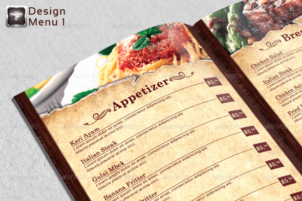 Indesign Menu Template Free Elegant 40 Psd & Indesign Food Menu Templates for Restaurants