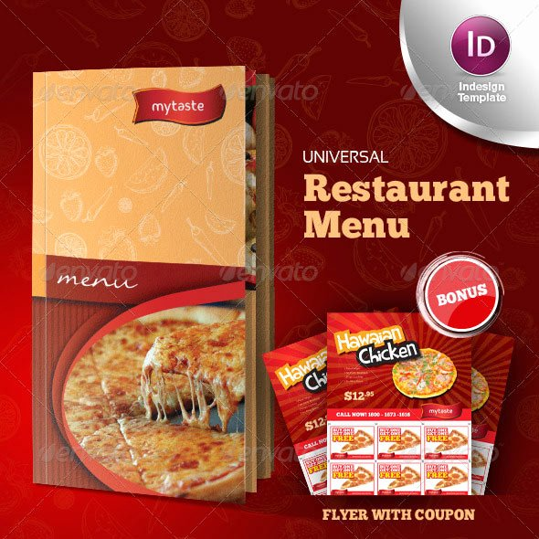 Indesign Menu Template Free Luxury 23 Creative Restaurant Menu Templates Psd & Indesign
