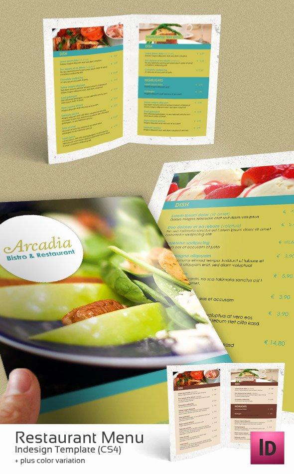 Indesign Menu Template Free New Restaurant Menu Indesign Template by Newjayne On Deviantart