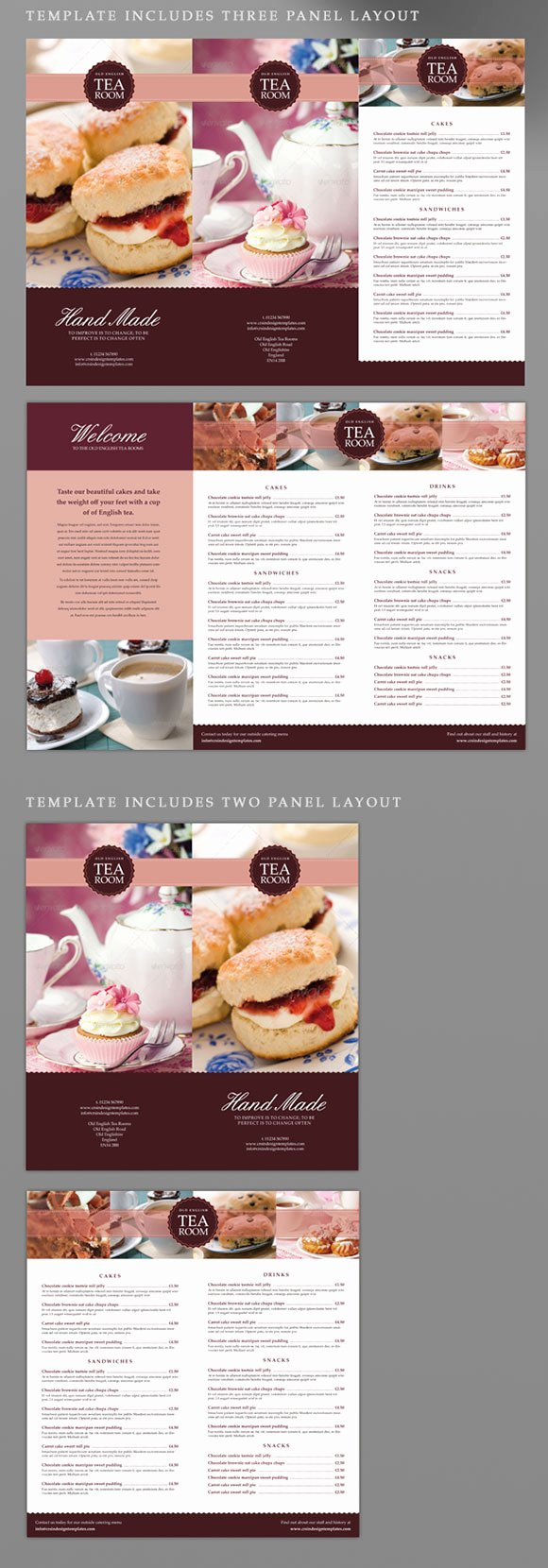 Indesign Menu Template Free New Tea Room Coffee Shop Indesign Menu Template Crs Indesign