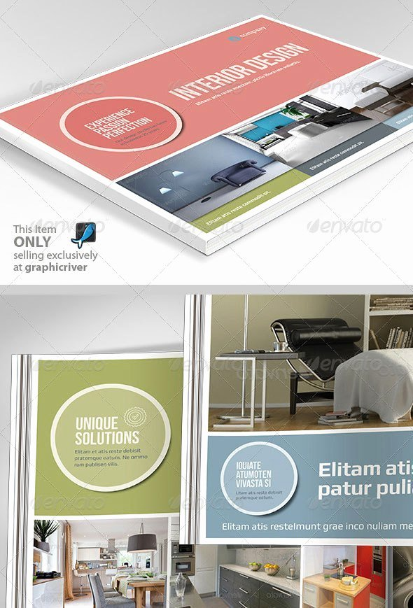 Indesign Portfolio Template Free Awesome Interior Design Portfolio Template Indesign