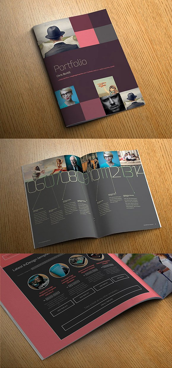 Indesign Portfolio Template Free Best Of Exo Indesign Portfolio Template Crs Indesign Templates