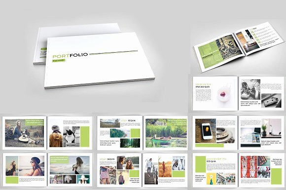 Indesign Portfolio Template Free Best Of Indesign Portfolio Brochure V127 Brochure Templates