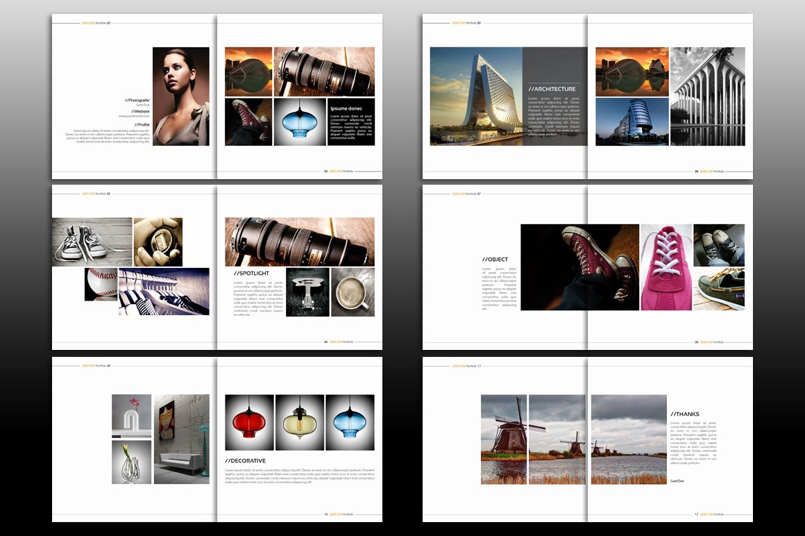 Indesign Portfolio Template Free Fresh Indesign Brochure Template Brochure Templates On