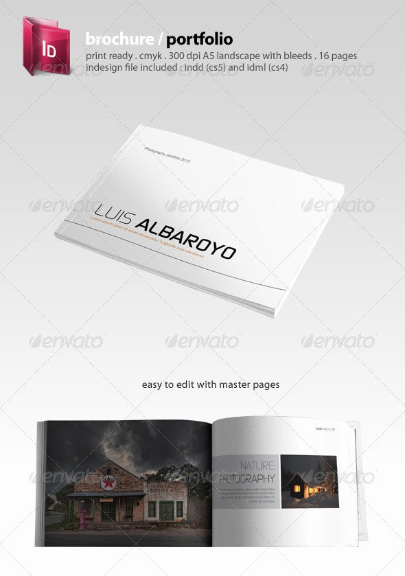 Indesign Portfolio Template Free Lovely 30 High Quality Indesign Brochure Templates