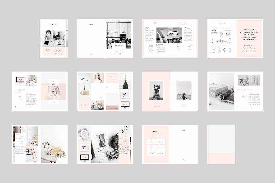 Indesign Portfolio Template Free Lovely Interior Design Portfolio Template Indesign