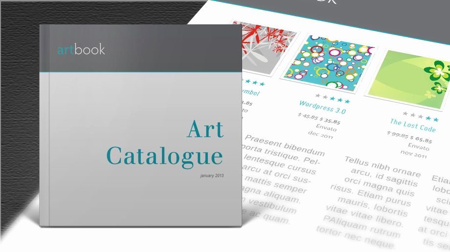 Indesign Portfolio Template Free Unique Download Free Art Catalogue Indesign Template and Create
