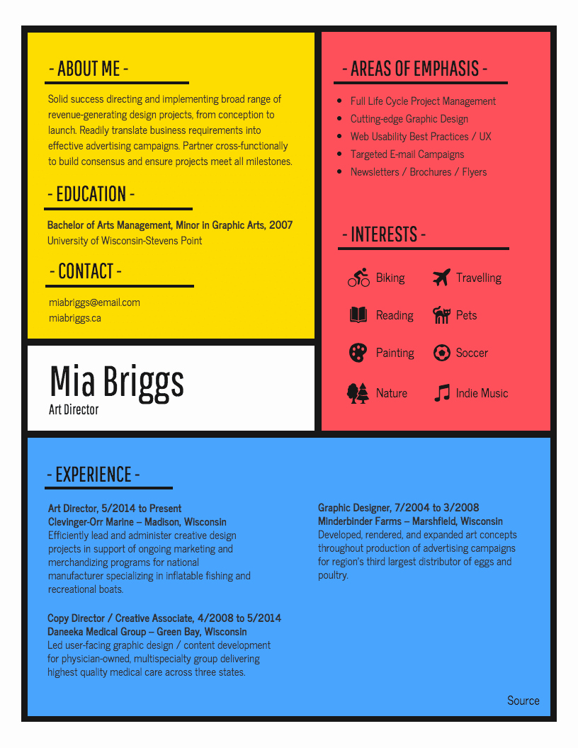 Infographic Resume Template Free Awesome Infographic Resume Template Venngage