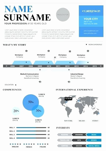 Infographic Resume Template Free Best Of Infographic Resume Template Powerpoint Free Download Best