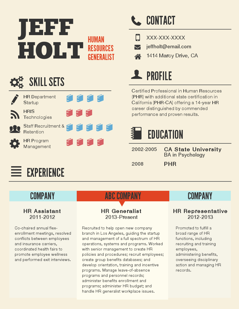 Infographic Resume Template Free Fresh Infographic Resume Template Venngage
