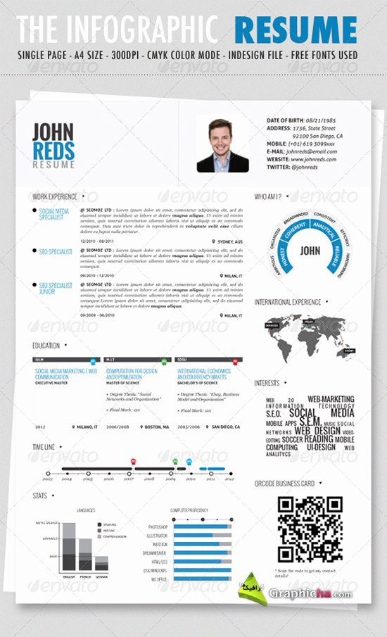 Infographic Resume Template Free Fresh What the Heck Trending now Infographic Resumes for