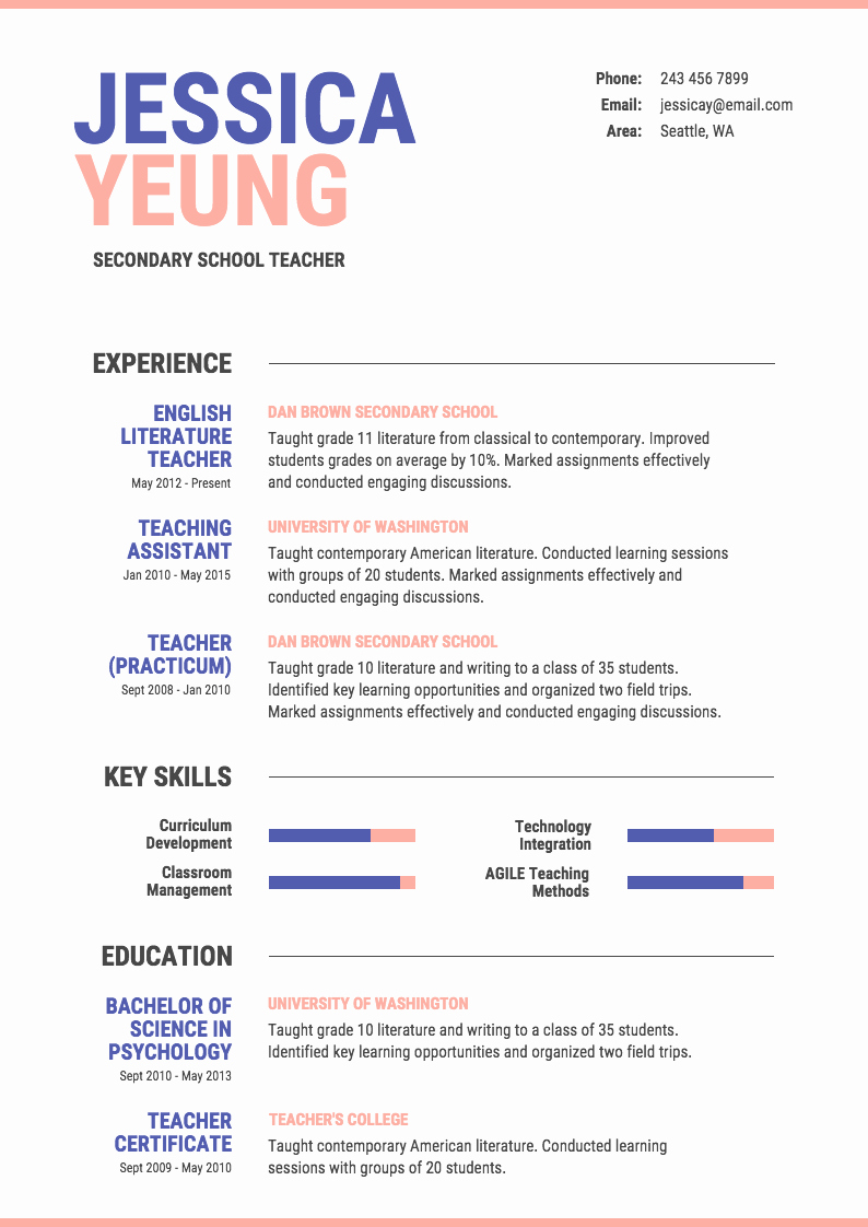 Infographic Resume Template Free Inspirational Infographic Resume Template Venngage
