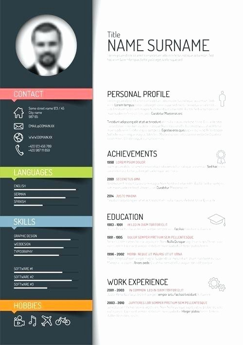 Infographic Resume Template Free Lovely Infographic Resume Template Free Download Talktomartyb