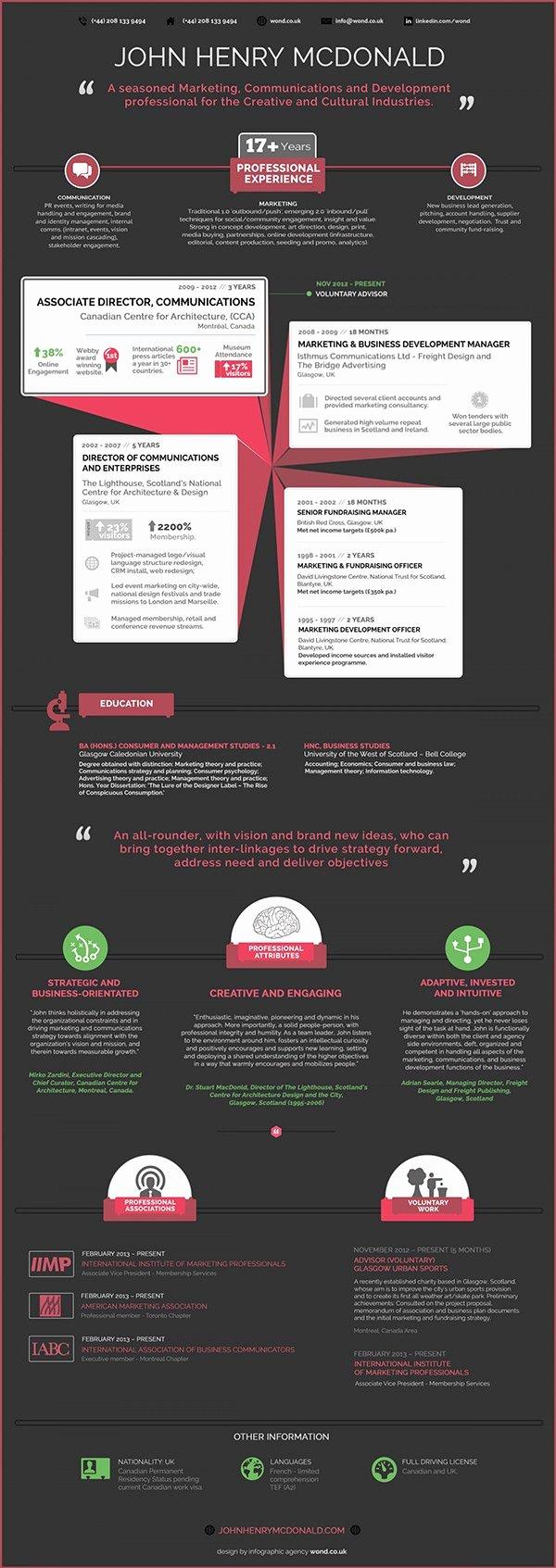 Infographic Resume Template Free Luxury 33 Infographic Resume Templates Free Sample Example