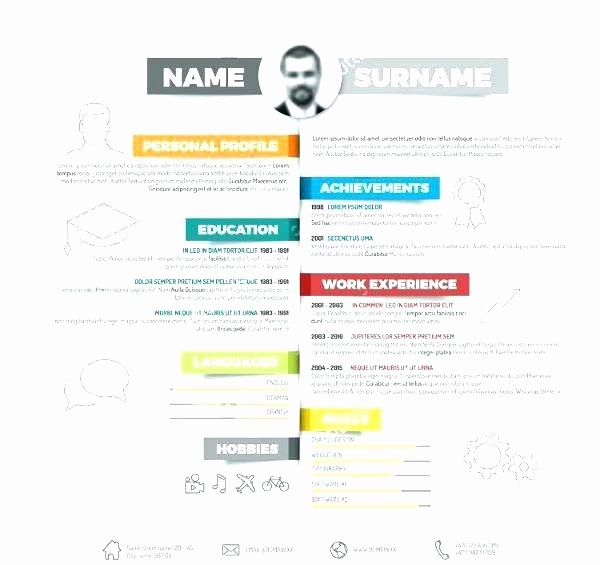 Infographic Resume Template Word Beautiful Infographic Resume Template Powerpoint Free Download Best