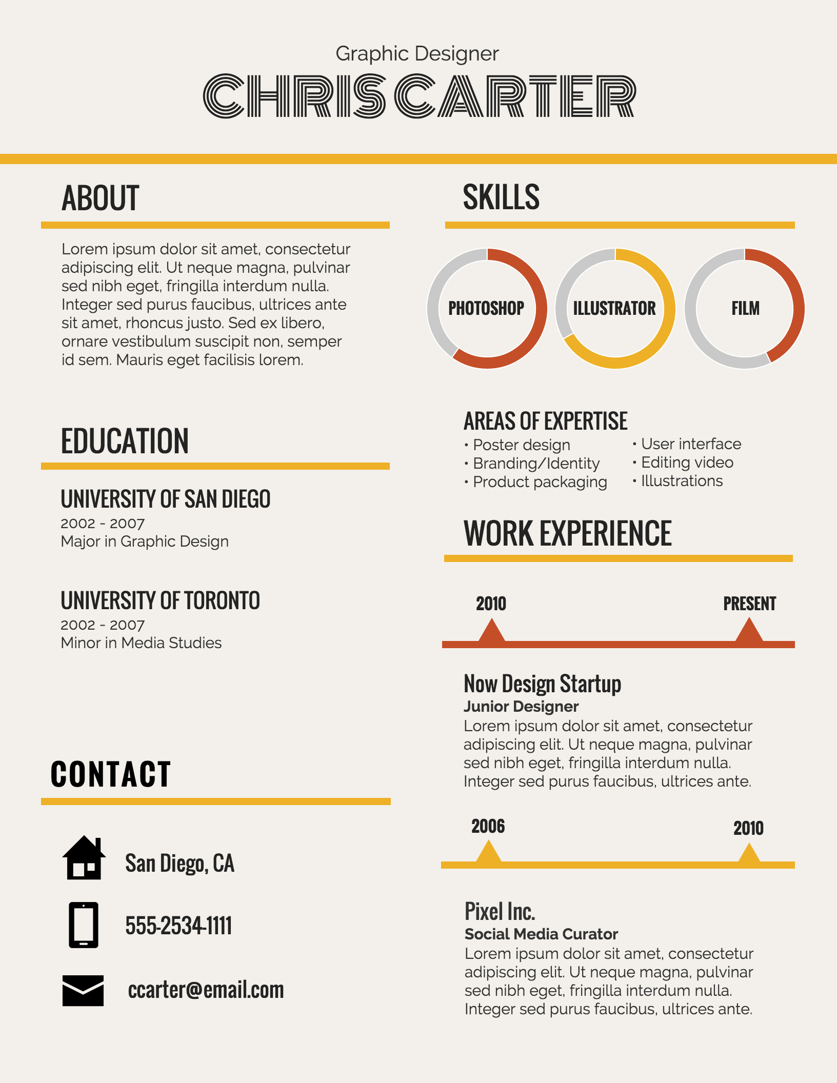 Infographic Resume Template Word Beautiful Infographic Resume Template Venngage