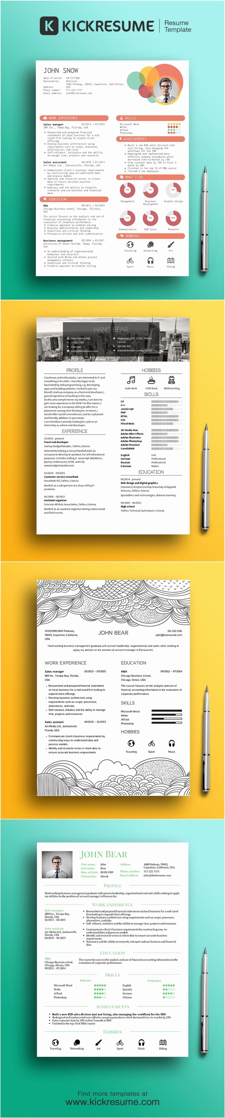 Infographic Resume Template Word Best Of 1000 Ideas About Infographic Resume On Pinterest