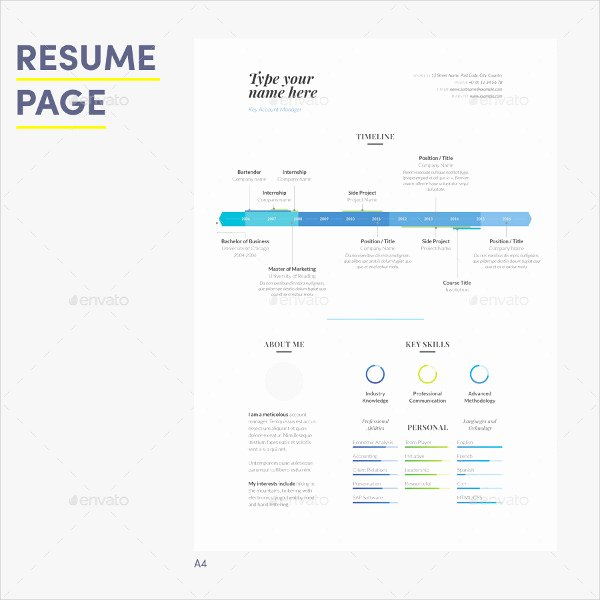 Infographic Resume Template Word Inspirational 27 Infographic Resume Free Sample Example format Download