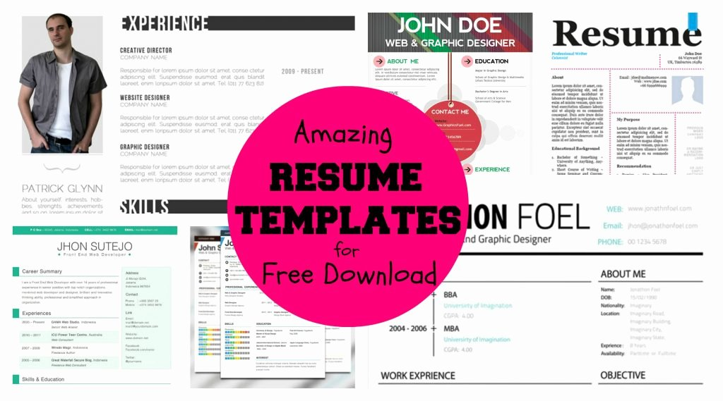 Infographic Resume Template Word Lovely Resume and Template 63 Marvelous Free Infographic Resume