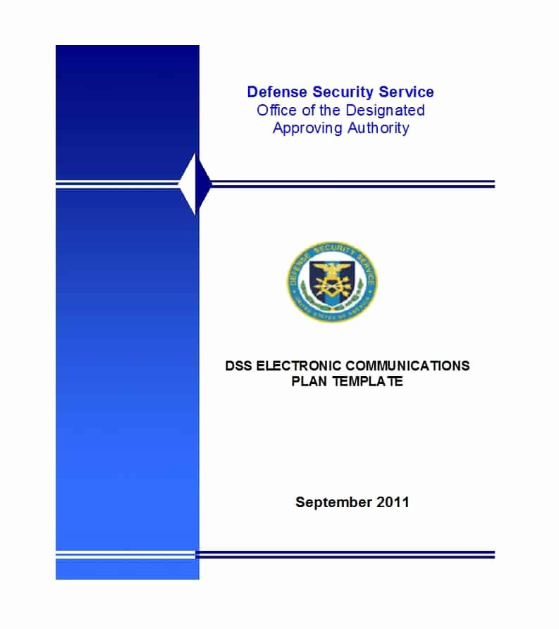 Information Security Policy Template Inspirational 42 Information Security Policy Templates [cyber Security