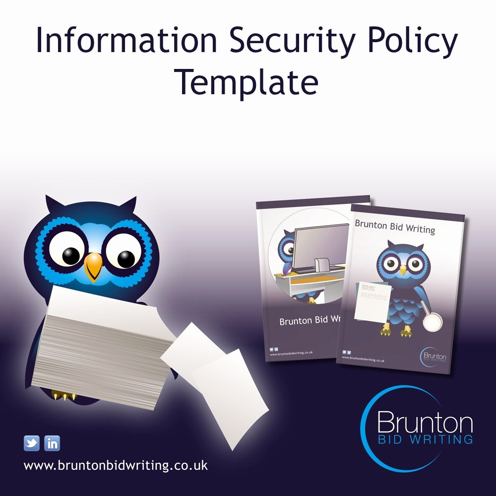 Information Security Policy Template Unique Information Security Policy Template for Recruitment