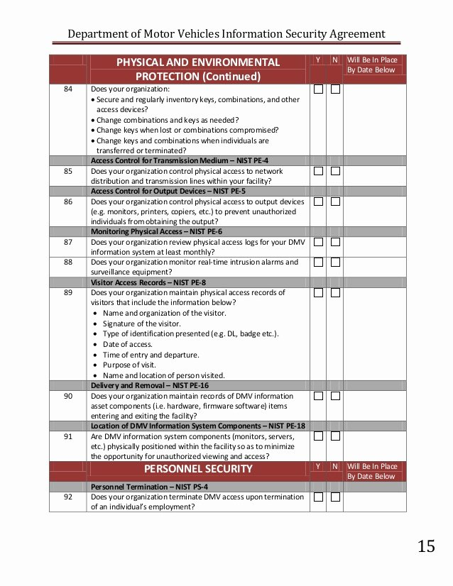 Information Security Risk assessment Template Elegant Information Security Risk assessment form to Pin