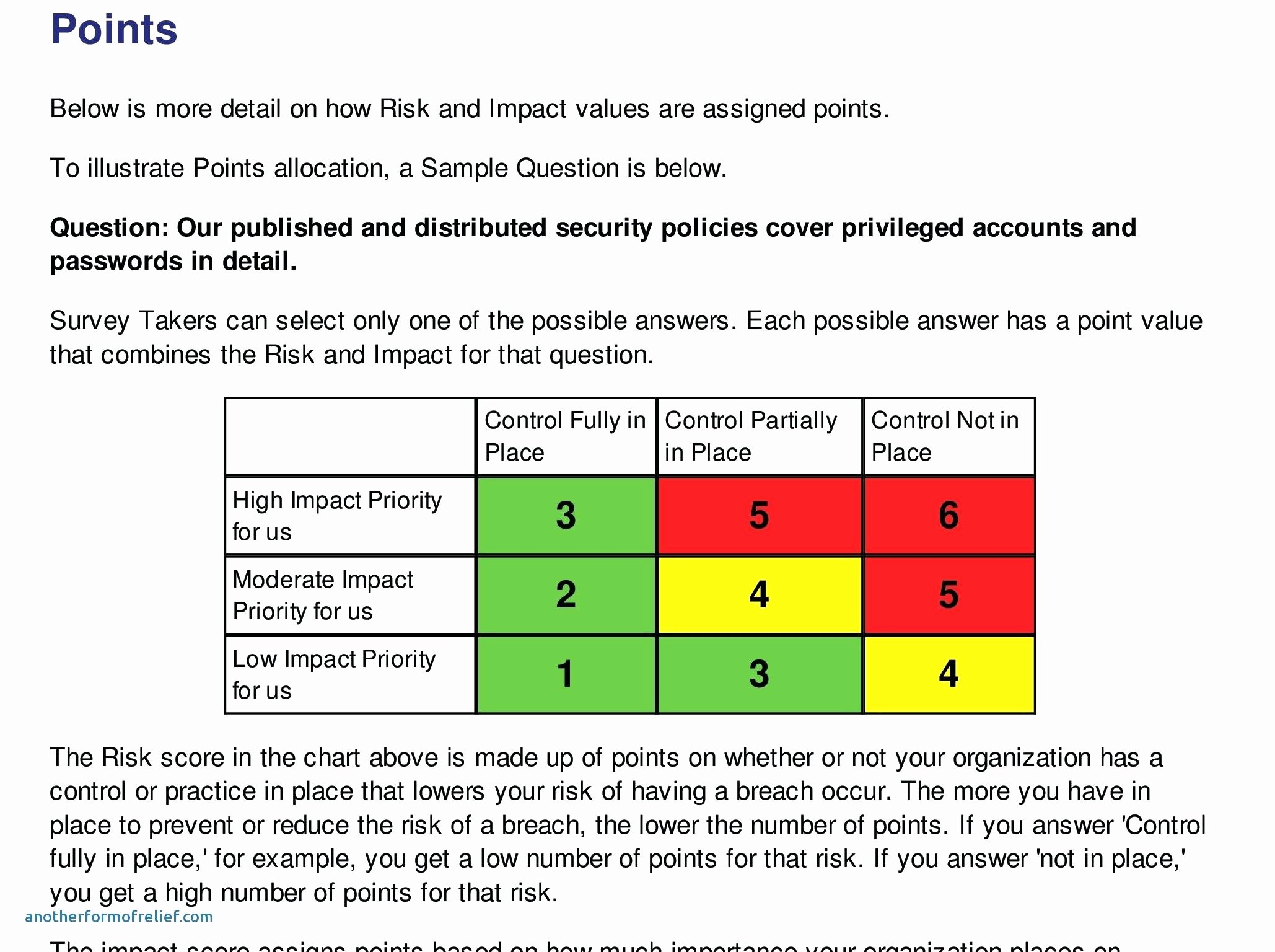 Information Security Risk assessment Template Inspirational It Security Risk assessment Template