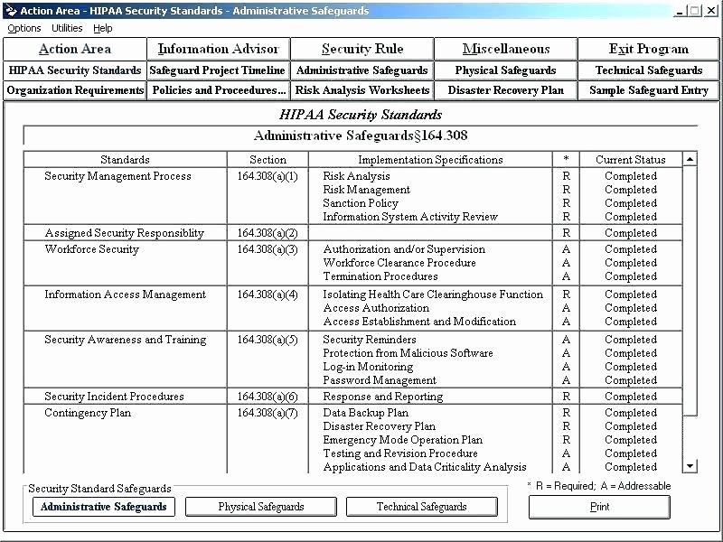 Information Security Risk assessment Template Inspirational Security Standards Template Security Gap Analysis Template
