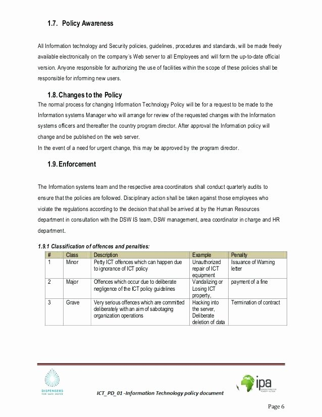 Information Technology Policy Template Awesome Here to Download This Program Analyst Resume