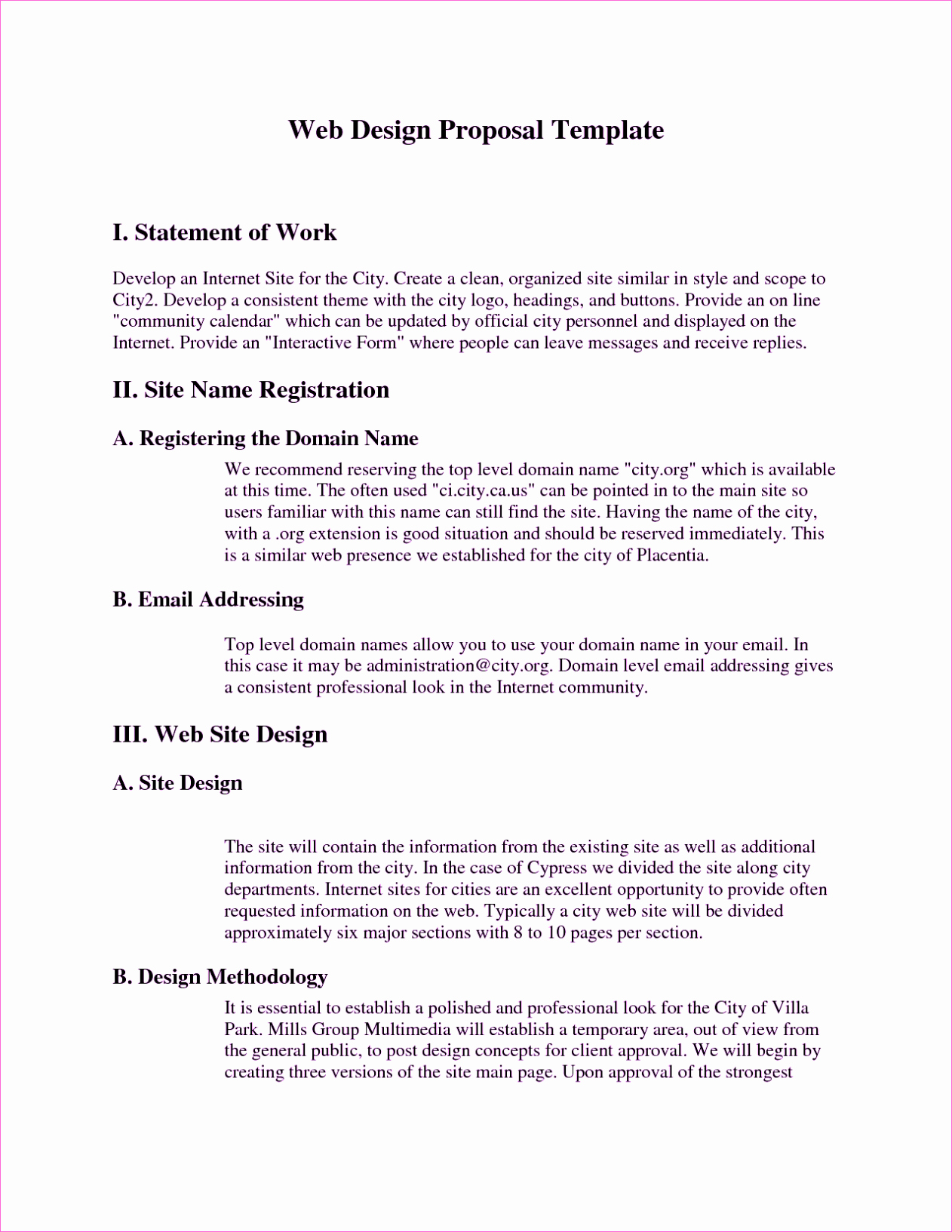 Information Technology Proposal Template Lovely Sample Rfp Response Template Information Technology Example