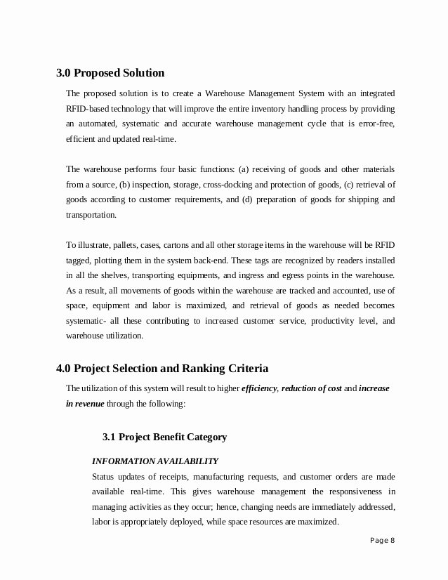 Information Technology Proposal Template Luxury thesis Proposal Sample Information Technology