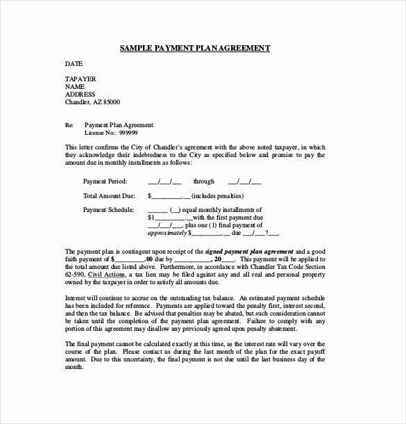 Installment Payment Agreement Template Fresh 18 Payment Agreement Templates Pdf Google Docs Pages