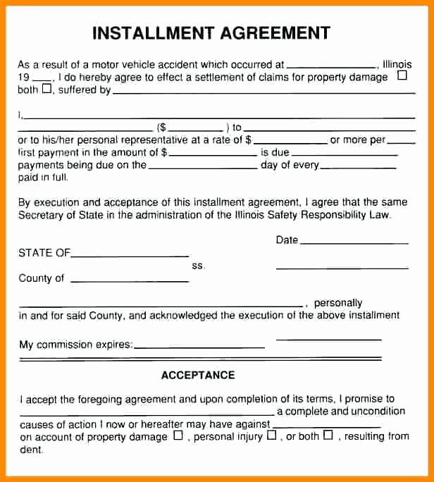 Installment Payment Agreement Template Lovely Installment Payment Agreement Letter – Template Gbooks