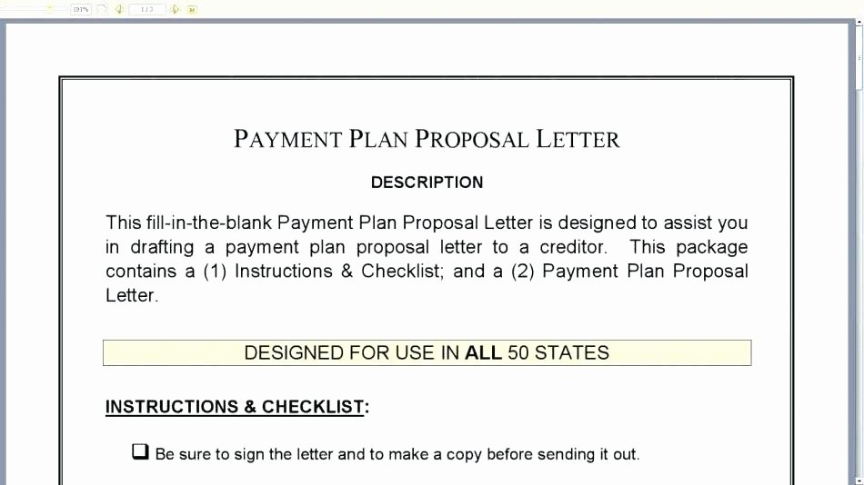 Installment Payment Agreement Template Unique Installment Payment Agreement Letter – Template Gbooks