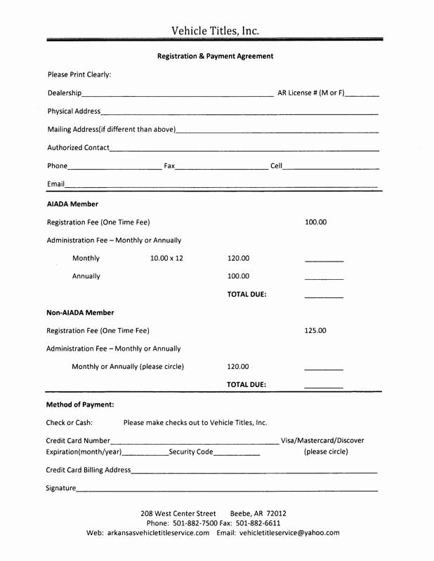 Installment Payment Contract Template Lovely Payment Agreement form