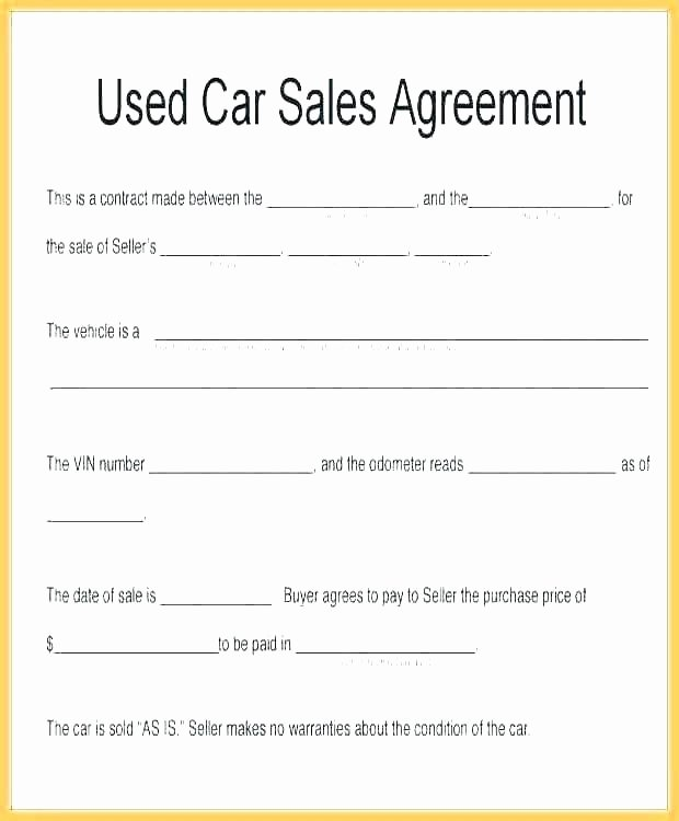 Installment Payment Contract Template New Vehicle Payment Agreement – Lytte