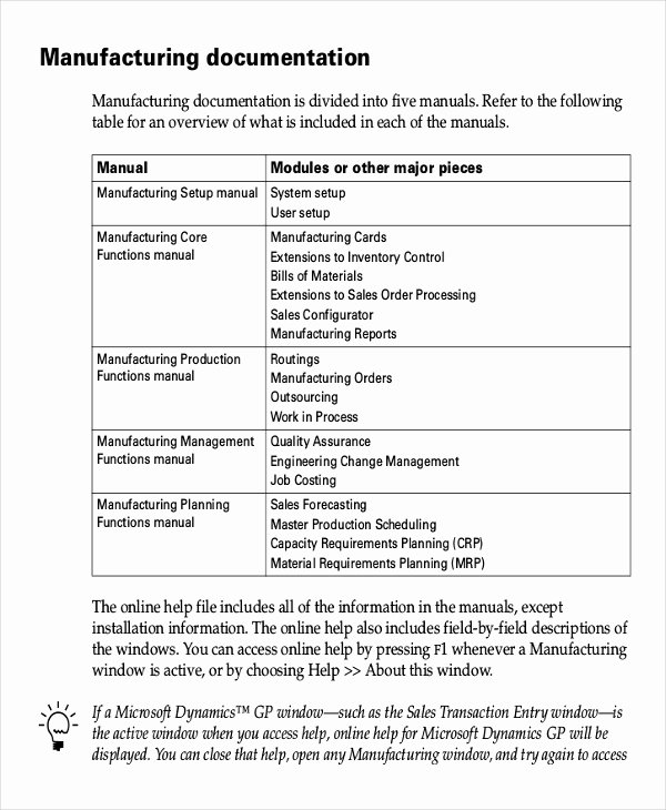 Instruction Manual Template Word Awesome Working Instruction Template 6 Free Word Pdf Document