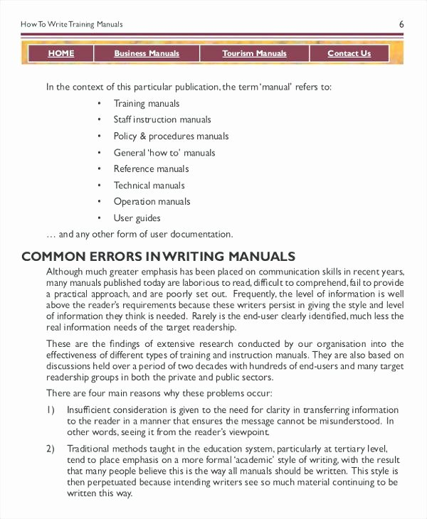 Instruction Manual Template Word Unique Best Ideas for Manual User Guide Template Summary
