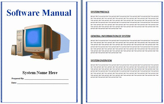 Instruction Manual Template Word Unique Boring Work Made Easy Free Templates for Creating Manuals