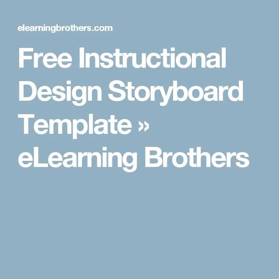Instructional Design Storyboard Template Awesome 25 Best Ideas About Storyboard Template On Pinterest