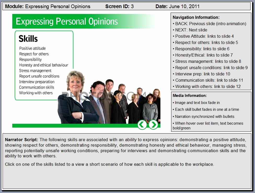 Instructional Design Storyboard Template Awesome Powerpoint Sample Elearning Storyboard Slides – Flirting