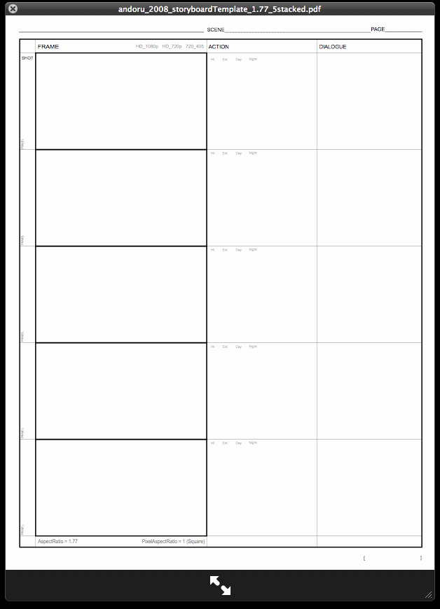 Instructional Design Storyboard Template Awesome Storyboard Templates Google Search Video