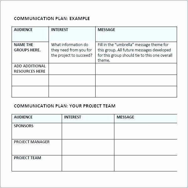Integrated Marketing Communications Plan Template Beautiful Integrated Munications Plan Template Petitive