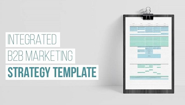 Integrated Marketing Plan Template Best Of How B2b Brands Can Map Marketing Strategy