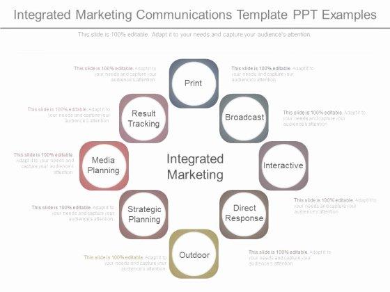Integrated Marketing Plan Template Best Of Integrated Marketing Munications Plan Joselinohouse